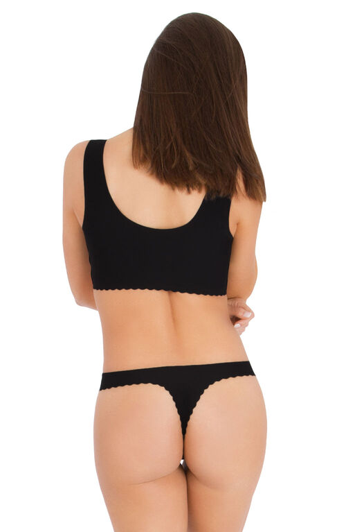 Belly Bandit Anti Thong Noir Grandeur XL.
