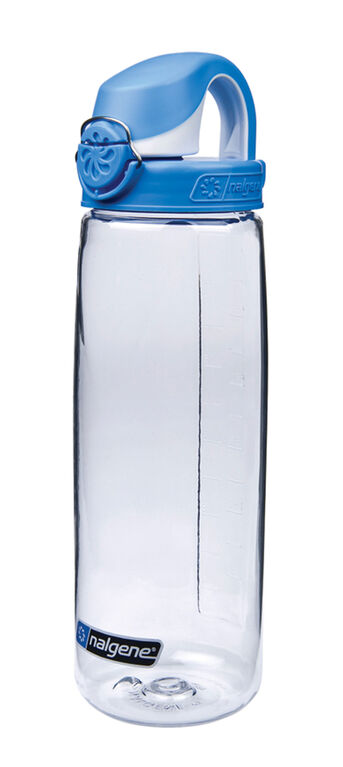 Nalgene OTF Clear with Red & White Cap