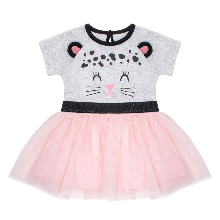 PL Baby Feline Fabulous Tutu Dress Light Grey 12M