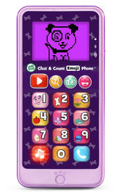 LeapFrog Chat & Count Emoji Phone - Purple - English Edition