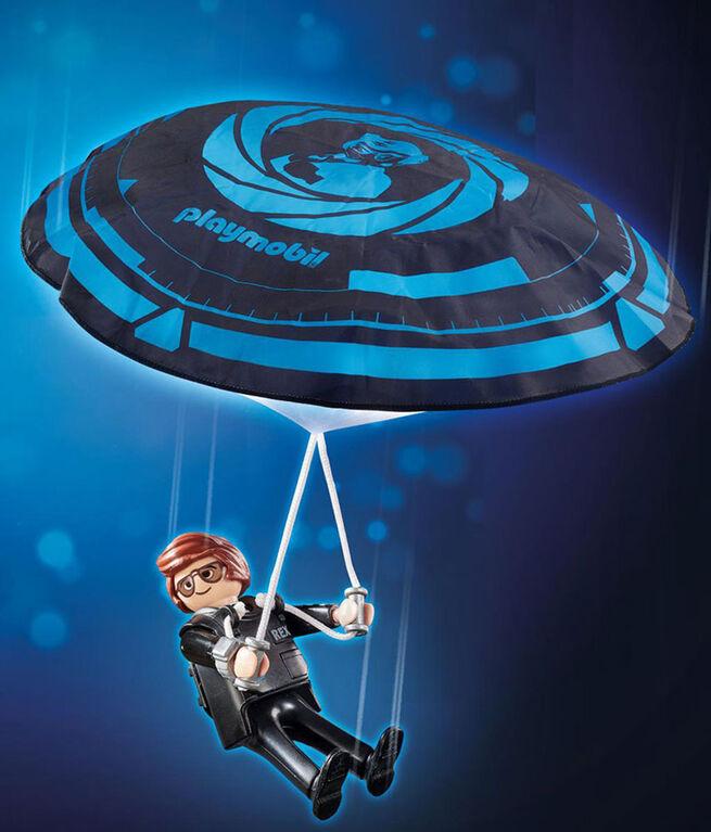 Playmobil - Rex Dasher avec parachute