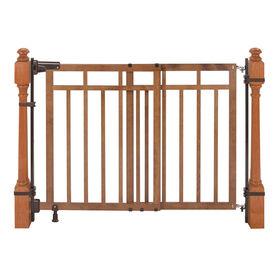 Barrière d'escalier et de balustre avec trousse d'installation double Summer Infant<br> - Notre exclusivité