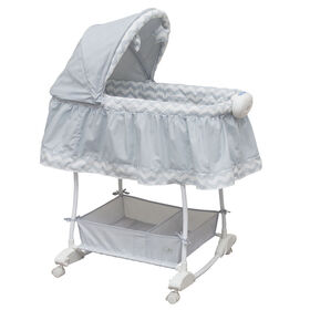 Bily Rocking Bassinet - Serene Chevron