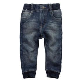 Levis Pantalon jogging denim en tricot - Bleu, 12 Mois