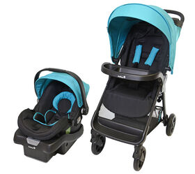 Safety 1st Smooth Ride LX Travel System- Lake Blue