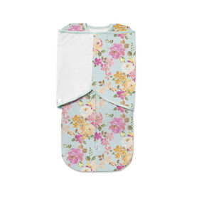 Breathable Baby Swaddle Trio- Watercolor Blooms