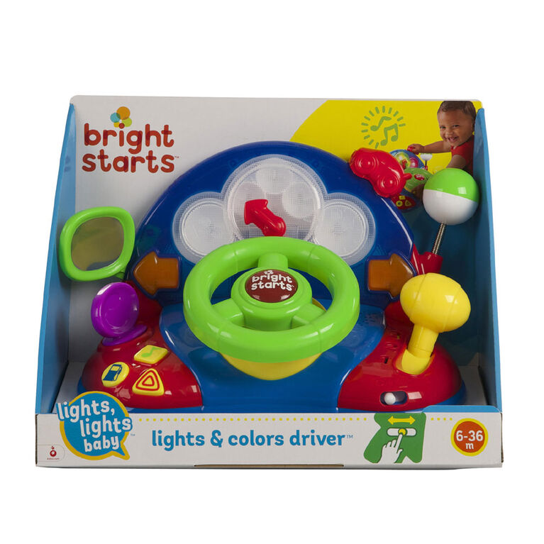 Bright Starts - Lights, Lights Baby Lights & Colors Driver
