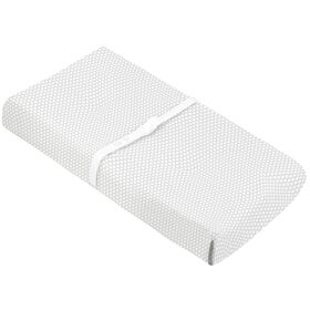 Kushies Baby Contour Change Pad Cover - Grey Solid
