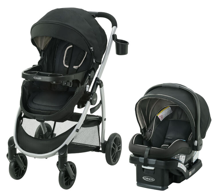 Graco Modes Pramette Travel System-Pierce