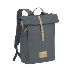 Lassig Green Label Rolltop Sac à dos à couches Anthracite