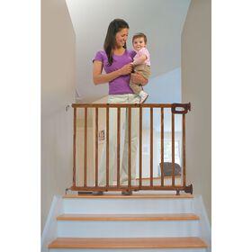 Summer Infant - Barrière d'escalier de luxe en bois Stylish & Secure.