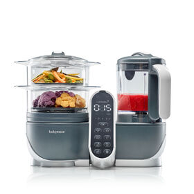 Babymoov - Duo Meal Station Industrial Grey