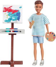 Barbie Team Stacie Friend Art Class Playset - R Exclusive