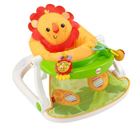 Fisher-Price Sit-Me-Up Floor Seat with Tray - English Edition