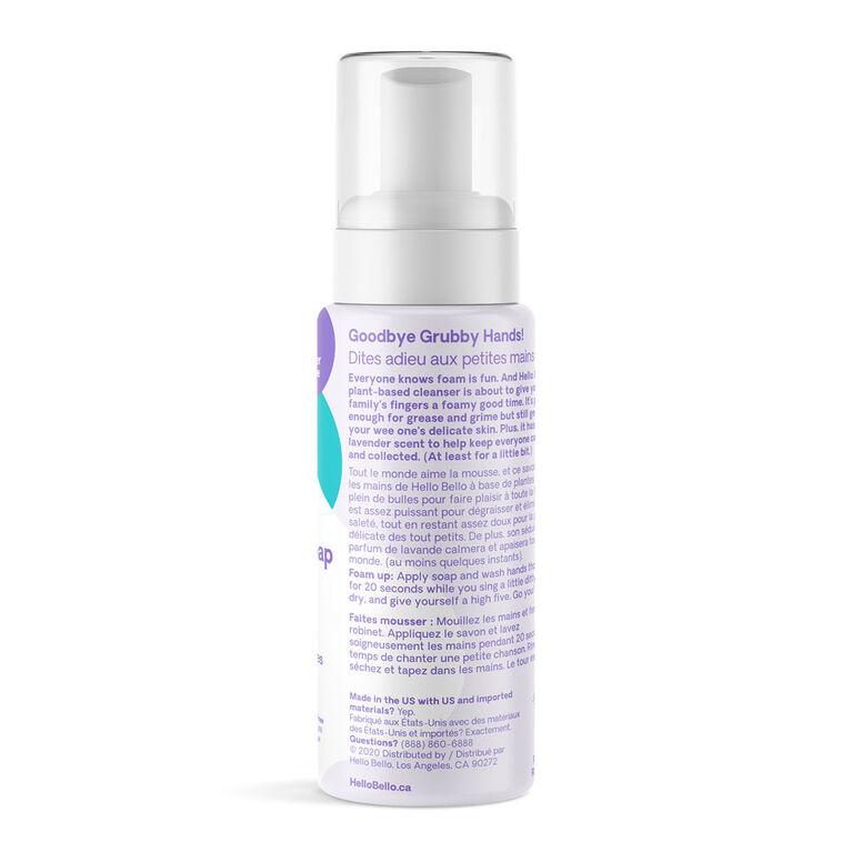 Hello Bello Foaming Lavender Hand Soap