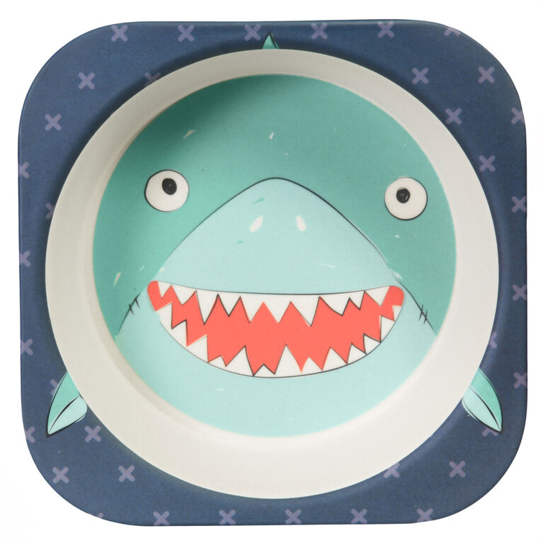 Safety 1st Bamboo Bowl - Shark