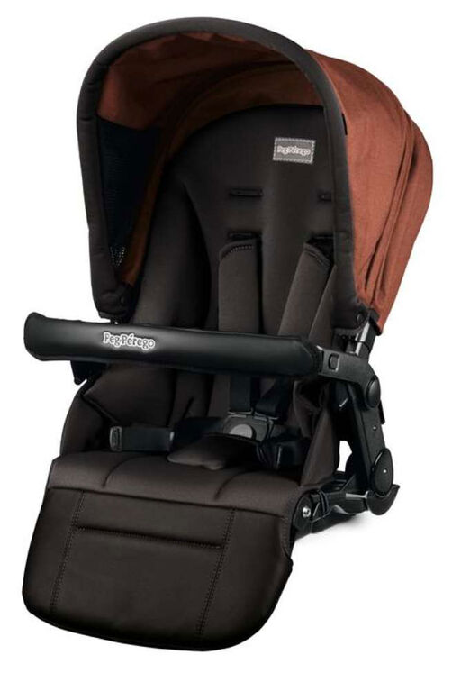 Peg Perego Stroller Seat - Team & Triplette Piroet - Terra-Cotta.