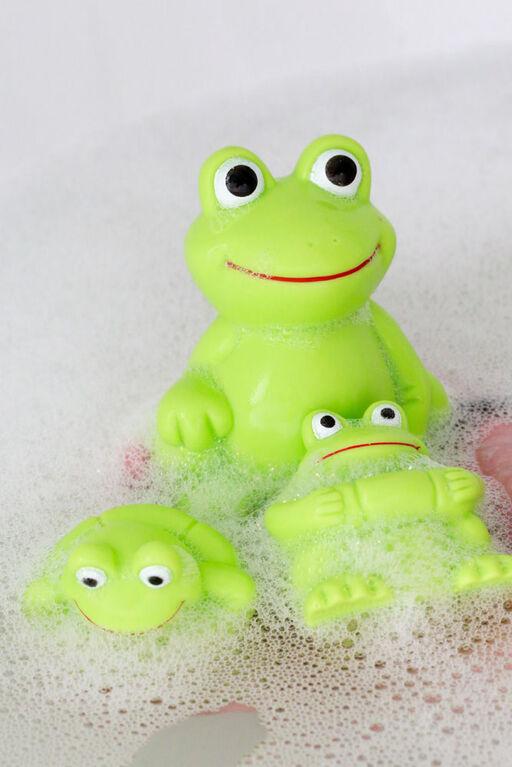 Vital Baby Play 'n' Splash Frog Family - 3pc