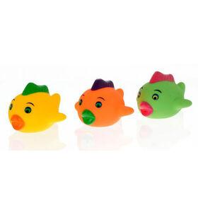 Vital Baby Play 'n' Splash Fish Family - 3pc