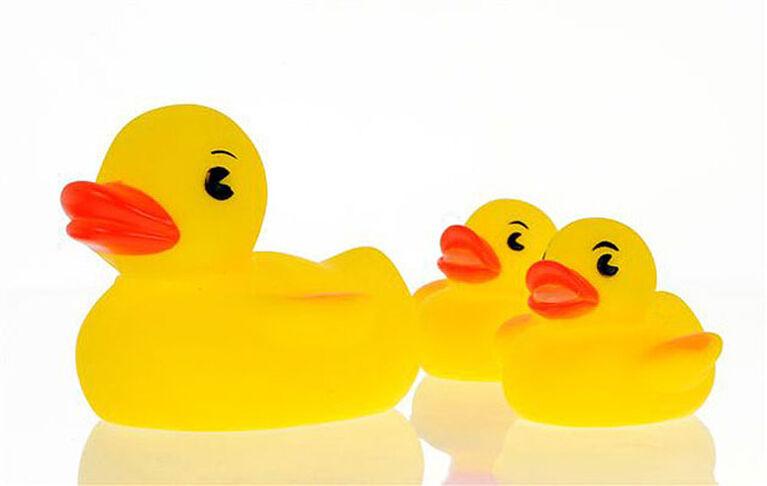 Canards Play 'n' Splash de Vital Baby - 3 pièces