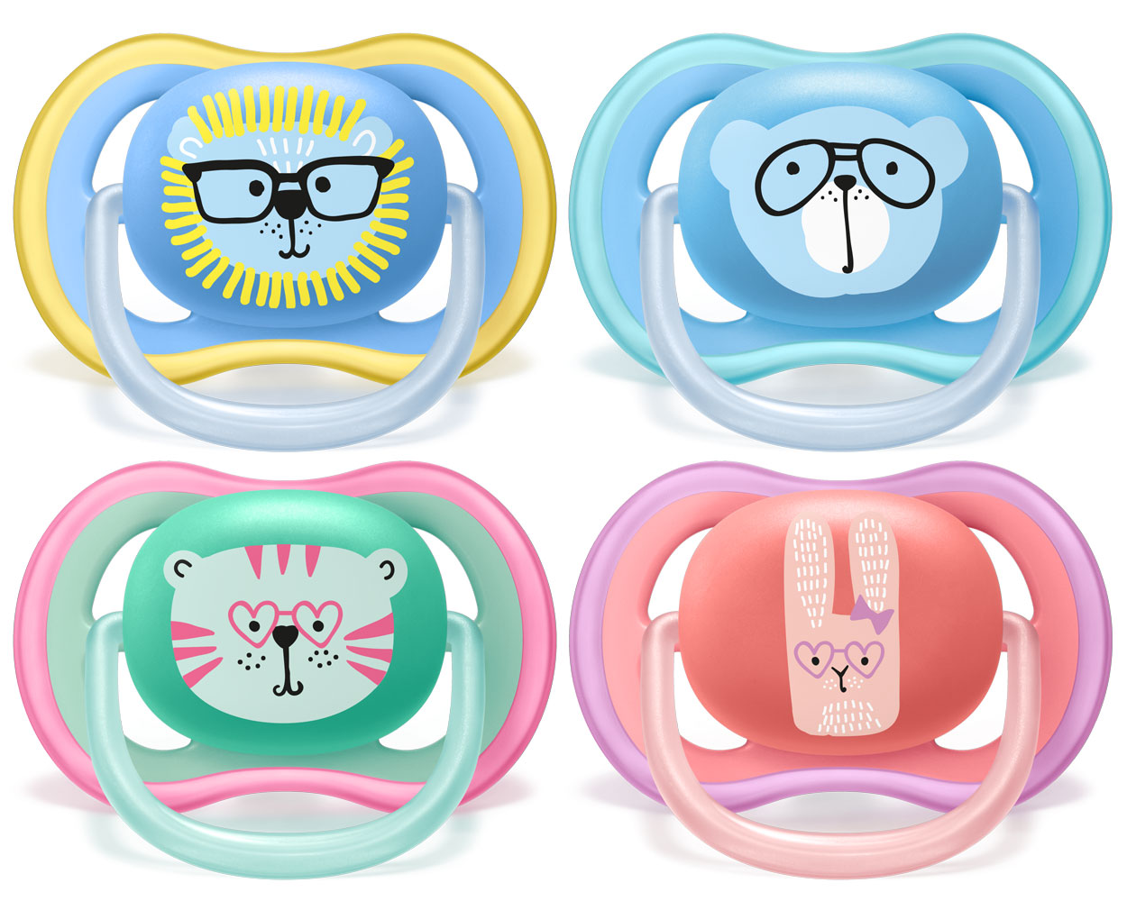 Philips Avent Ultra Air Pacifier 18 Months Various