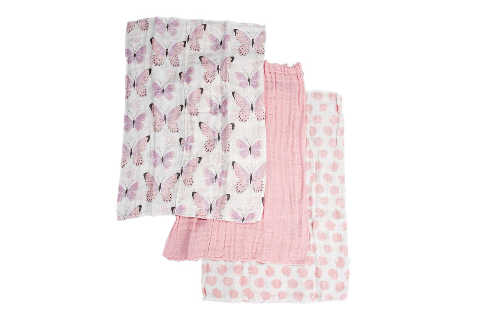 Koala Baby 3 Pack Muslin Cotton Burpcloths Babies R Us