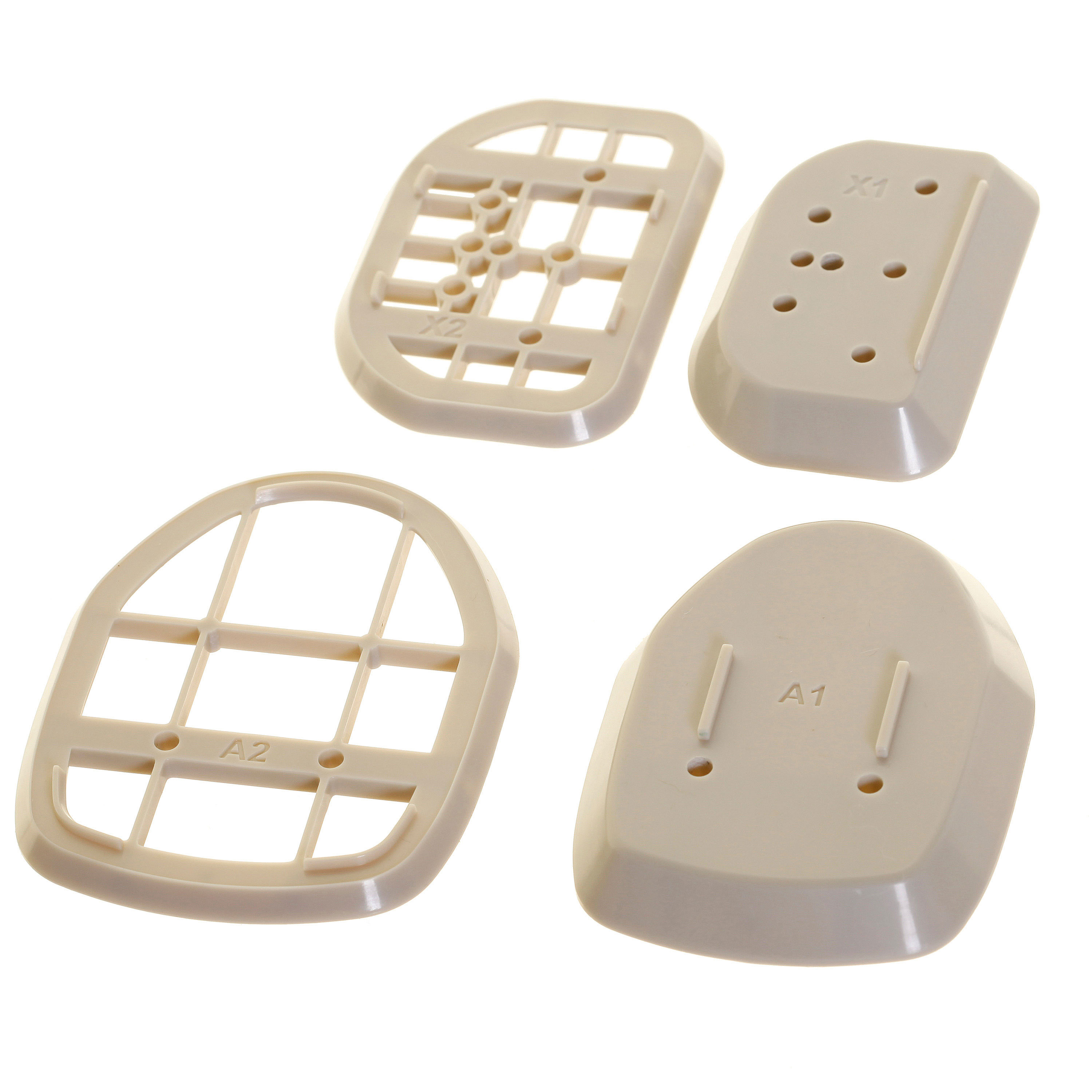 Baseboard Spacer Kit for Dream Baby Retractable Gate L821 Beige