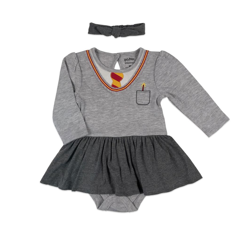 Warner S Harry Potter Tutu Dress With Headband Grey 12