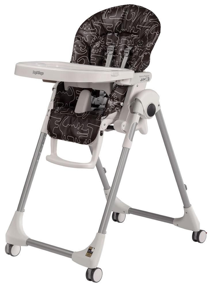The dark brown cover for highchair Peg Perego Prima Pappa Best