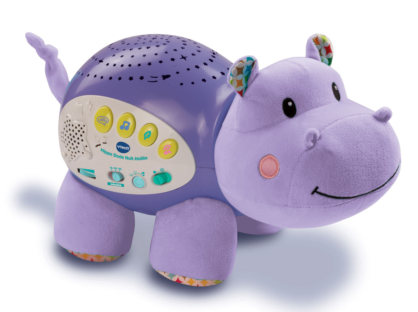 Lil Critters Soothing Starlight Hippo French Edition