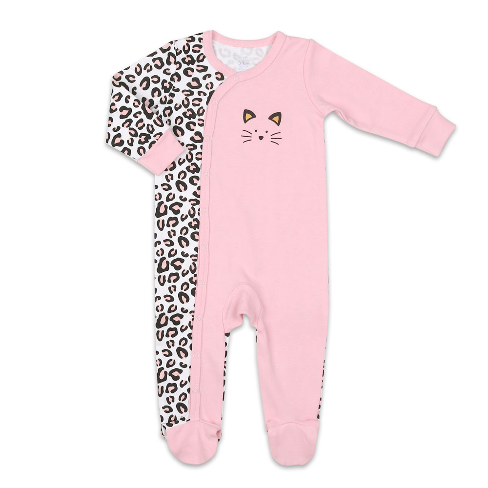 Koala Baby Cotton Sleeper Cheetah Cat Master Pack 6 9