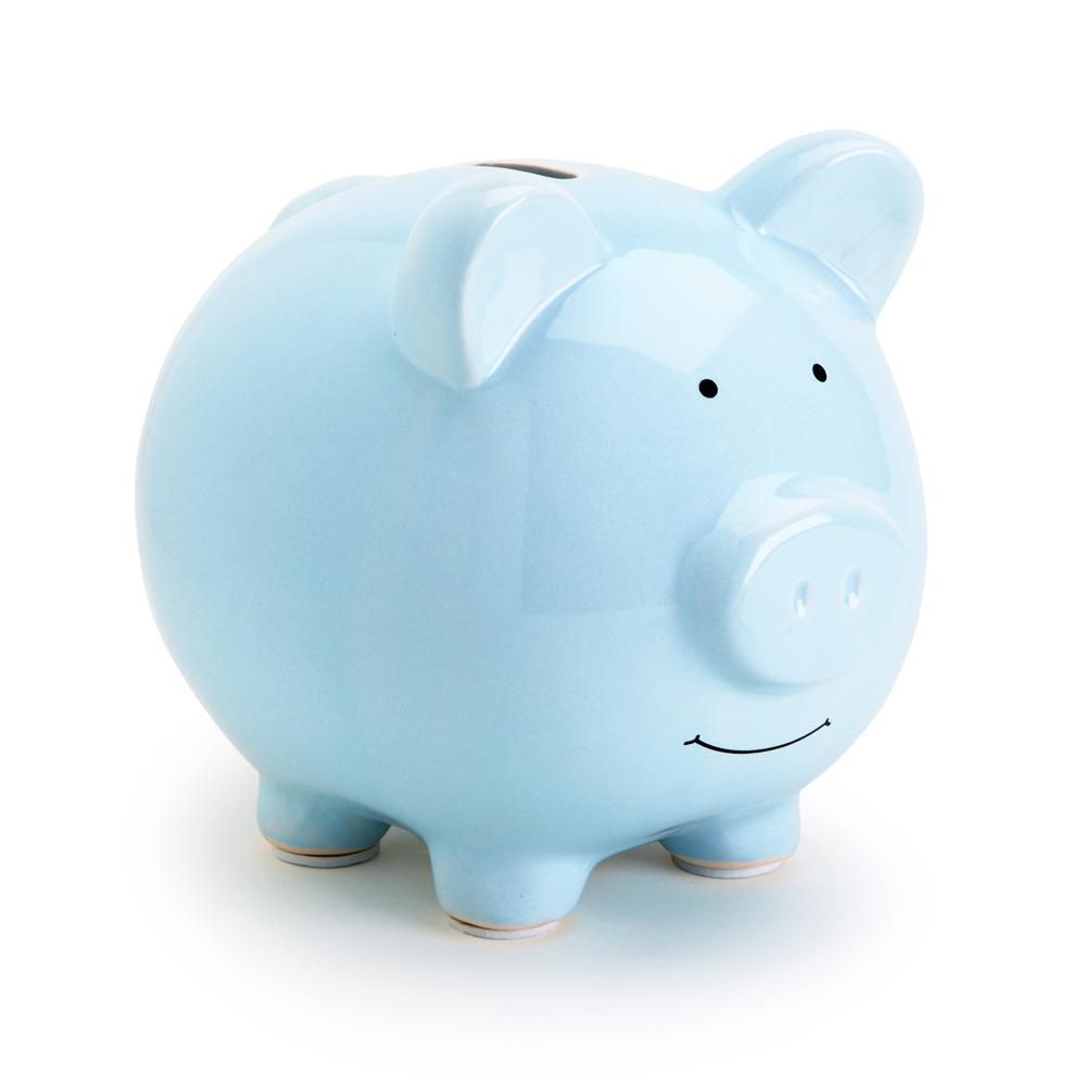 Pearhead Ceramic Piggy Bank Blue Babies R Us Canada