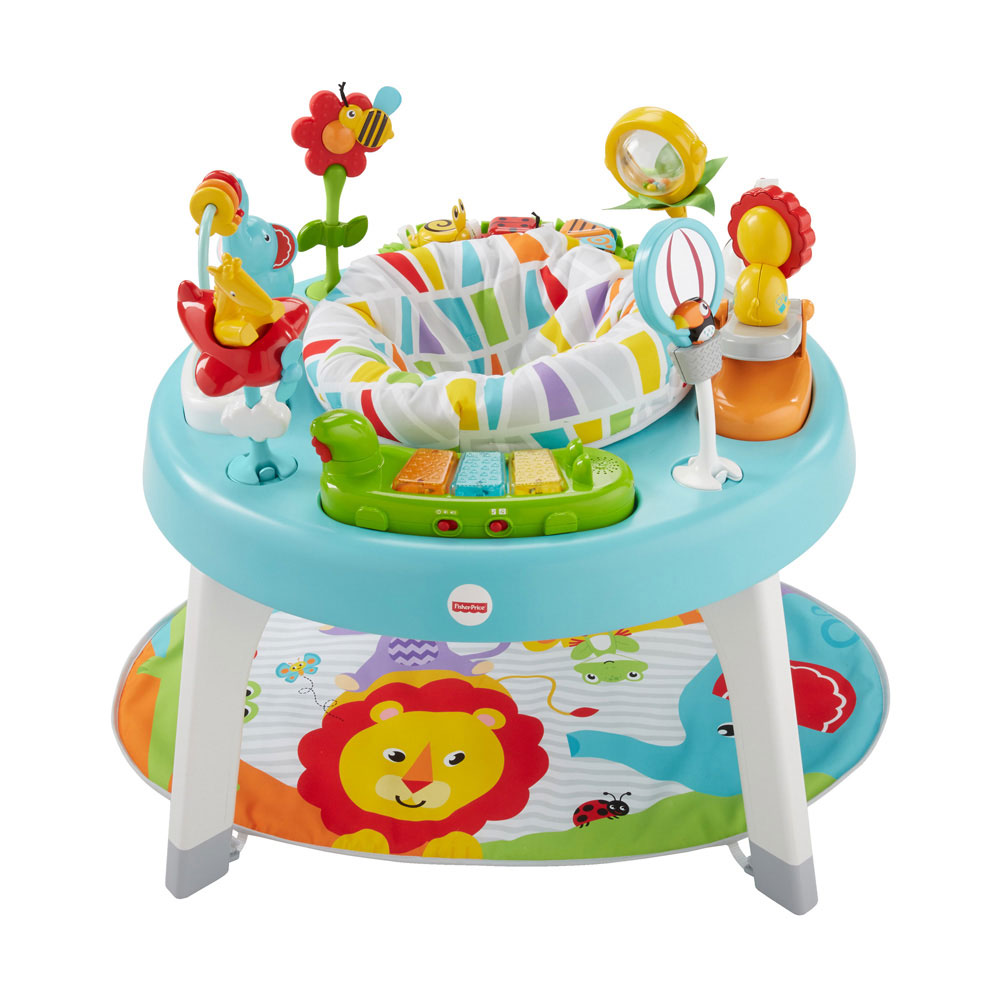 Fisher Price 3 In 1 Sit To Stand Activity Center R