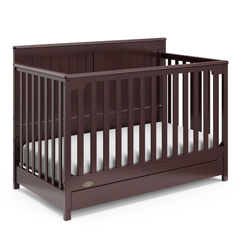 Graco Hadley 4 In 1 Convertible Crib With Drawer