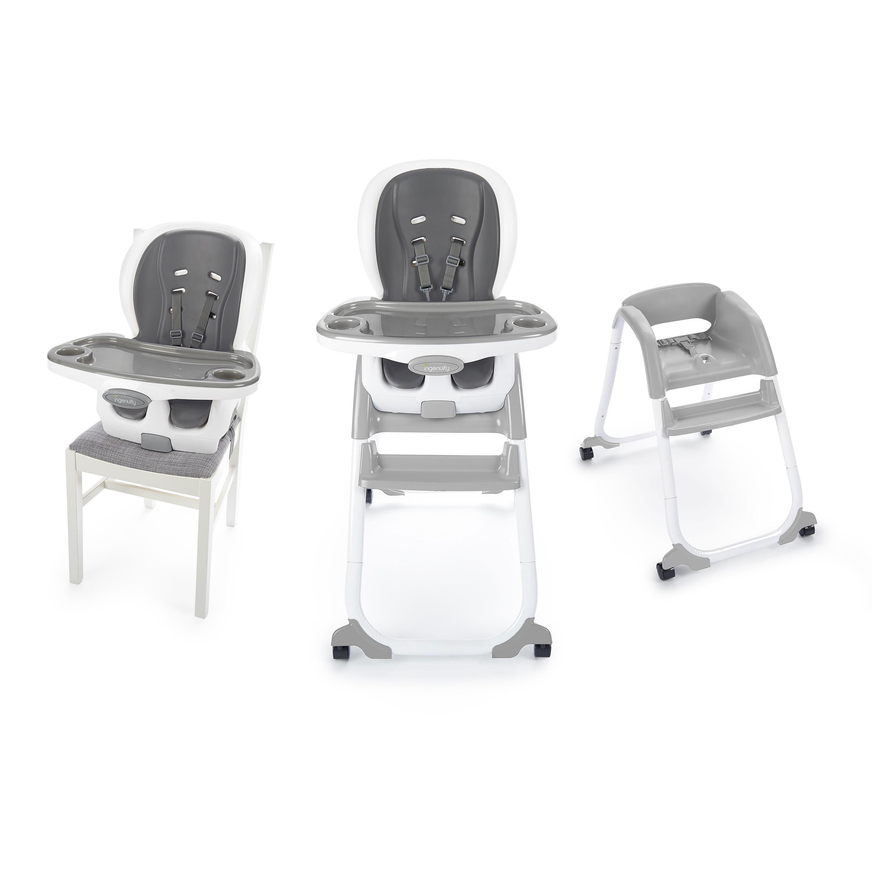 Ingenuity SmartClean Trio Elite 3-in-1 High Chair - Slate ...