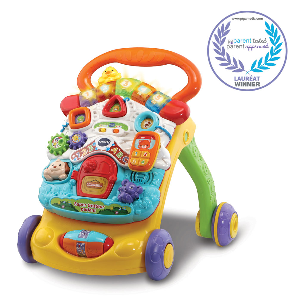 Vtech 174 Stroll Amp Discover Activity Walker French Edition