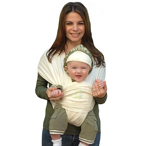Baby KTan Porte-b/éb/é Coton Bio Naturel Parent