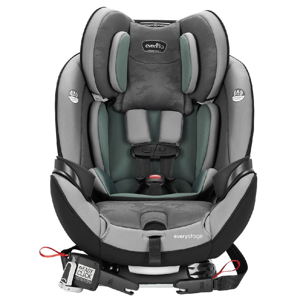Evenflo Everystage Deluxe All In One Car Seat Highlands