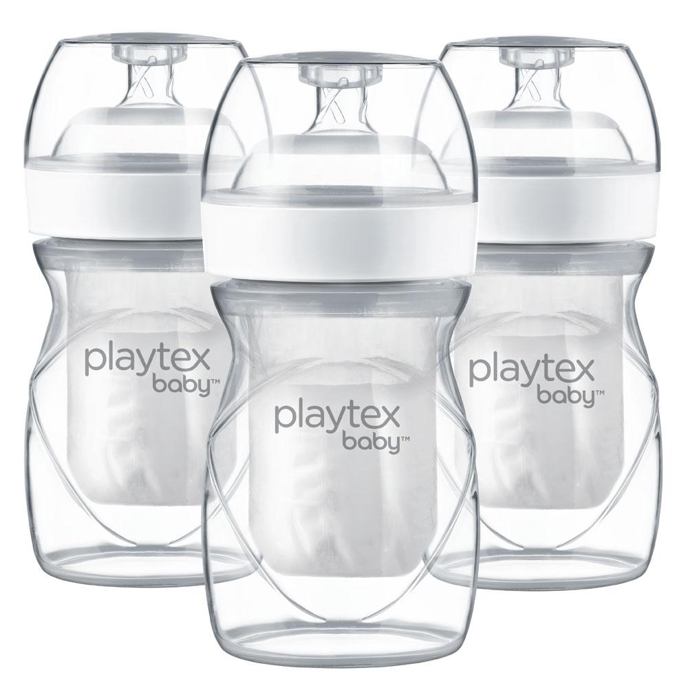 Playtex Nurser With Drop Ins Liners 4oz Bottles 3 Pack