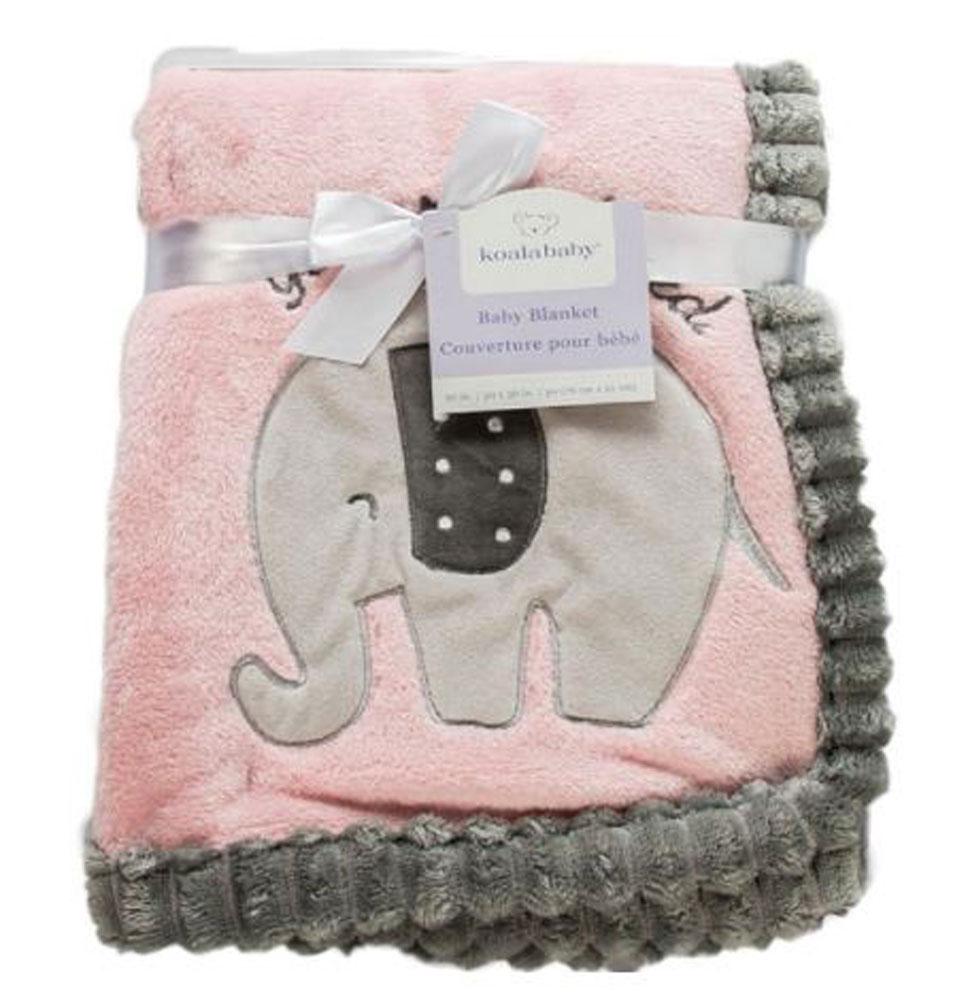 Koala Baby Ribbed Blanket Pink Elephant Babies R Us Canada