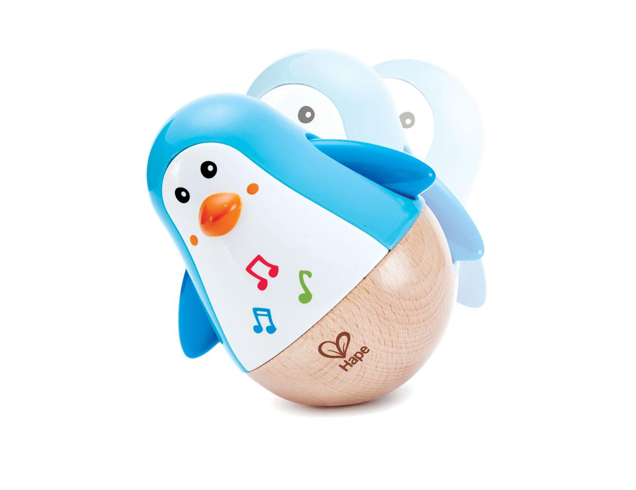 Hape Penguin Musical Wobbler | Babies R Us Canada
