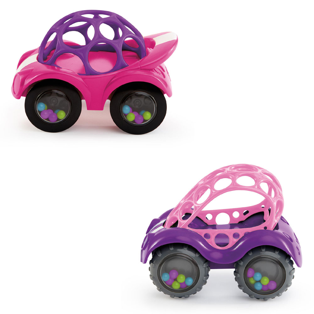 Oball Pink Rattle Amp Roll Cars Babies R Us Canada